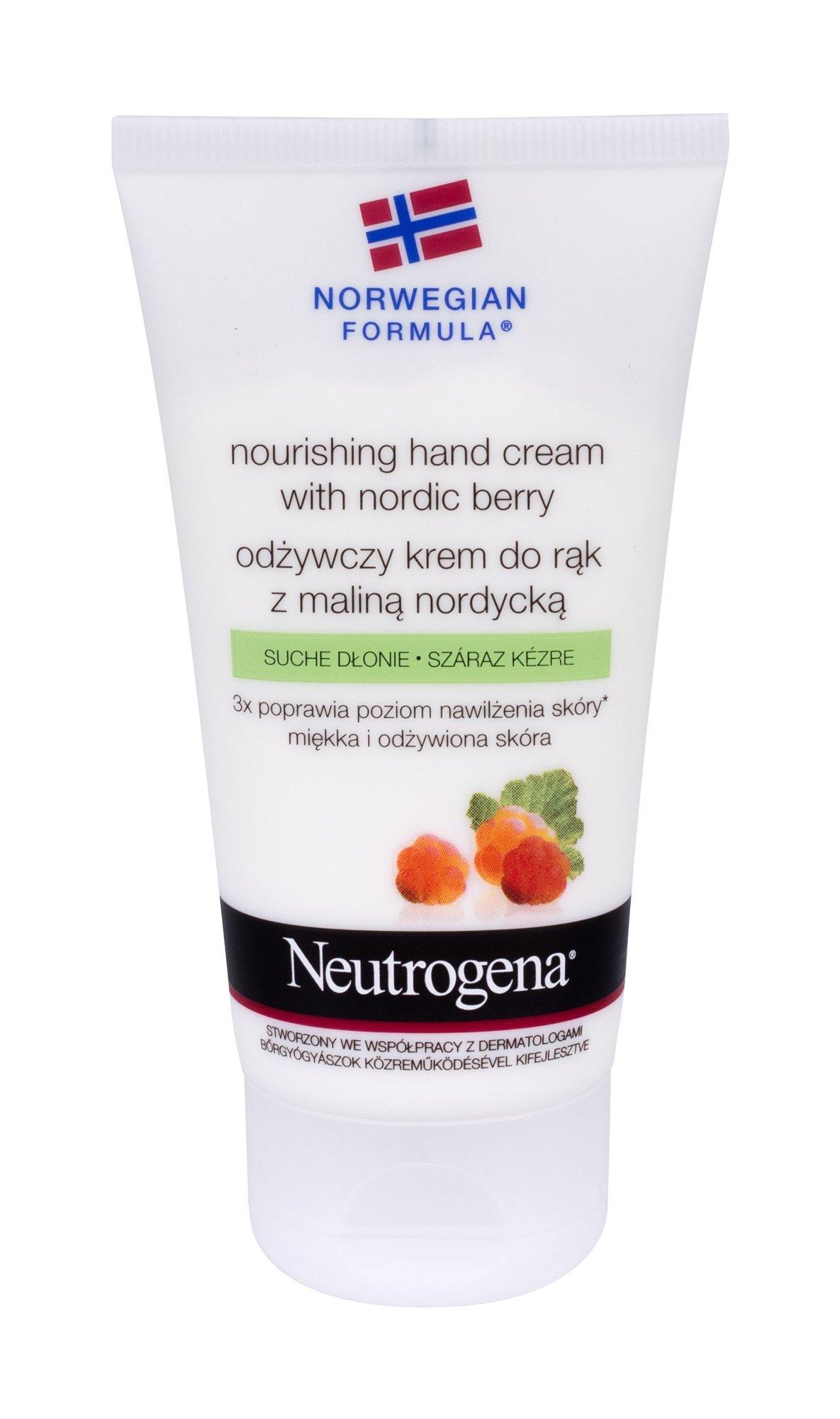 Neutrogena Nourishing Hand Cream With Nordic Berry