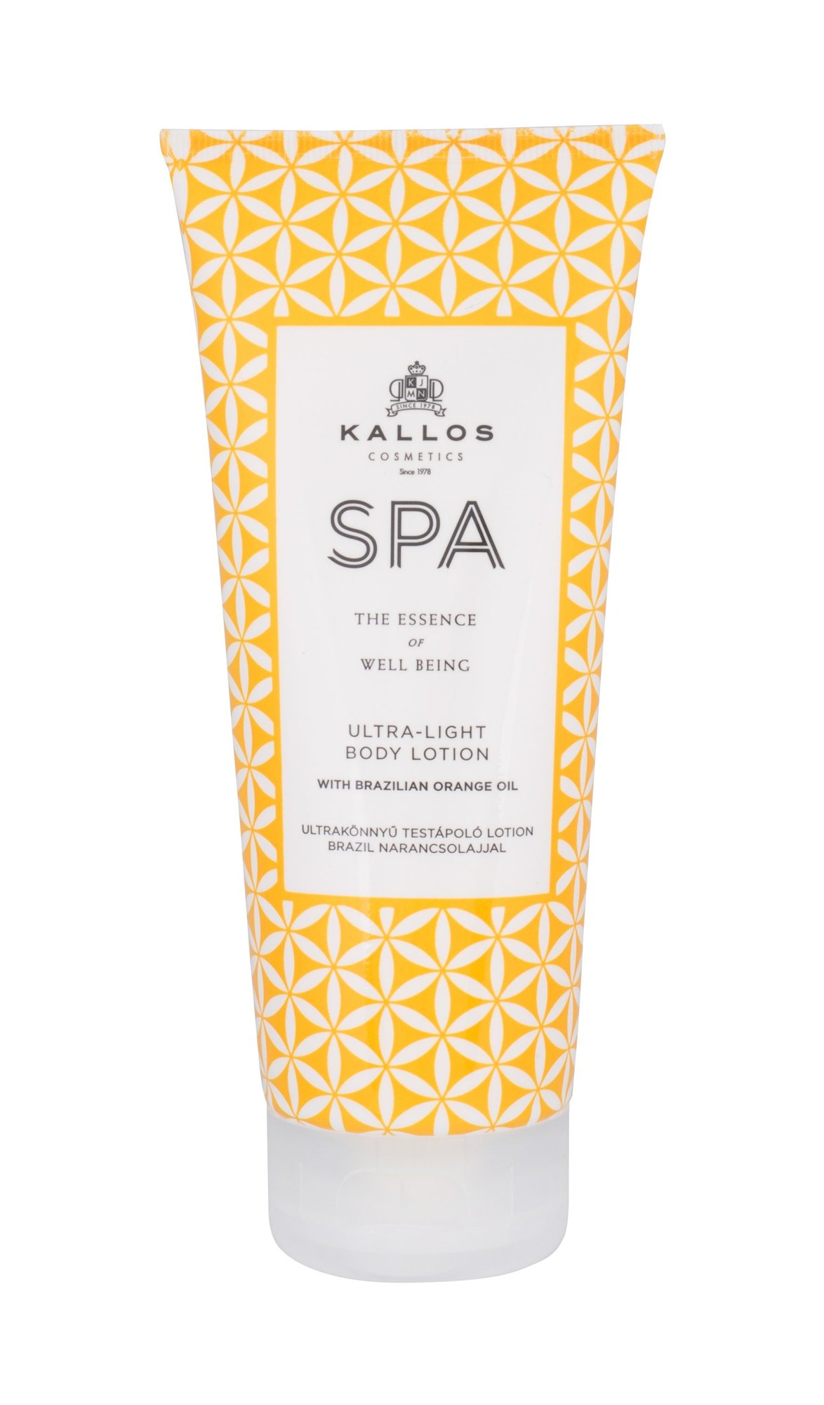 Kallos Cosmetics SPA Ultra-Light Body Lotion