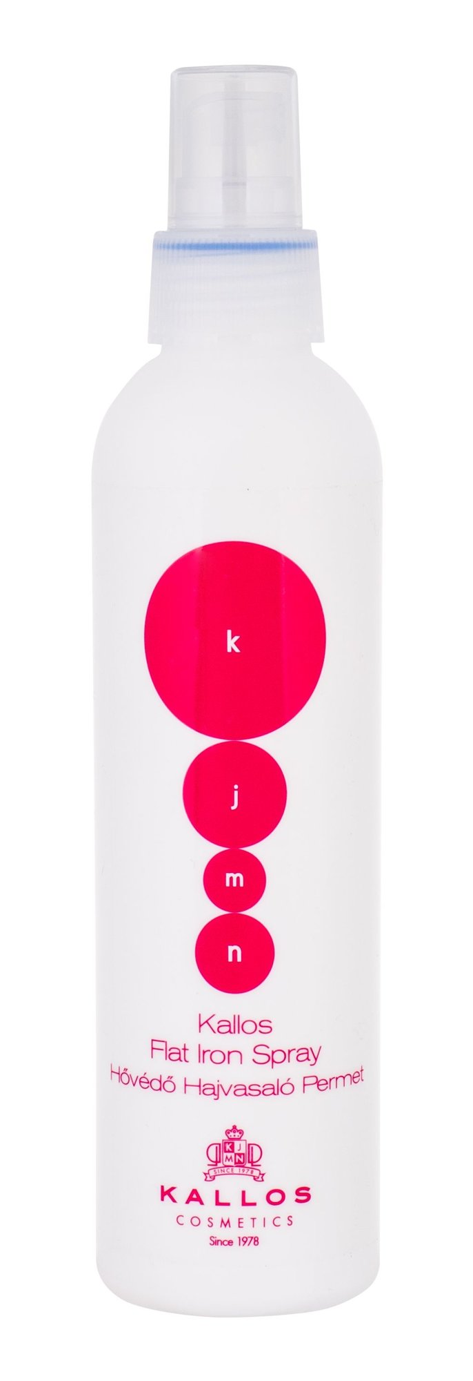 Kallos Cosmetics KJMN Flat Iron Spray