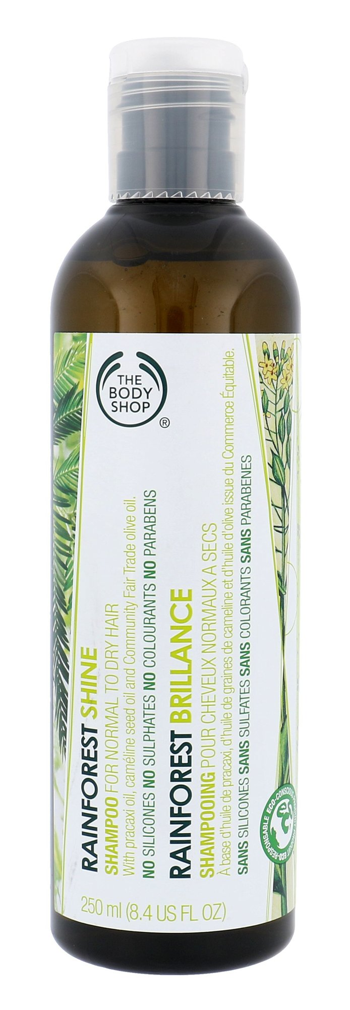 The Body Shop Rainforest Shine Shampoo