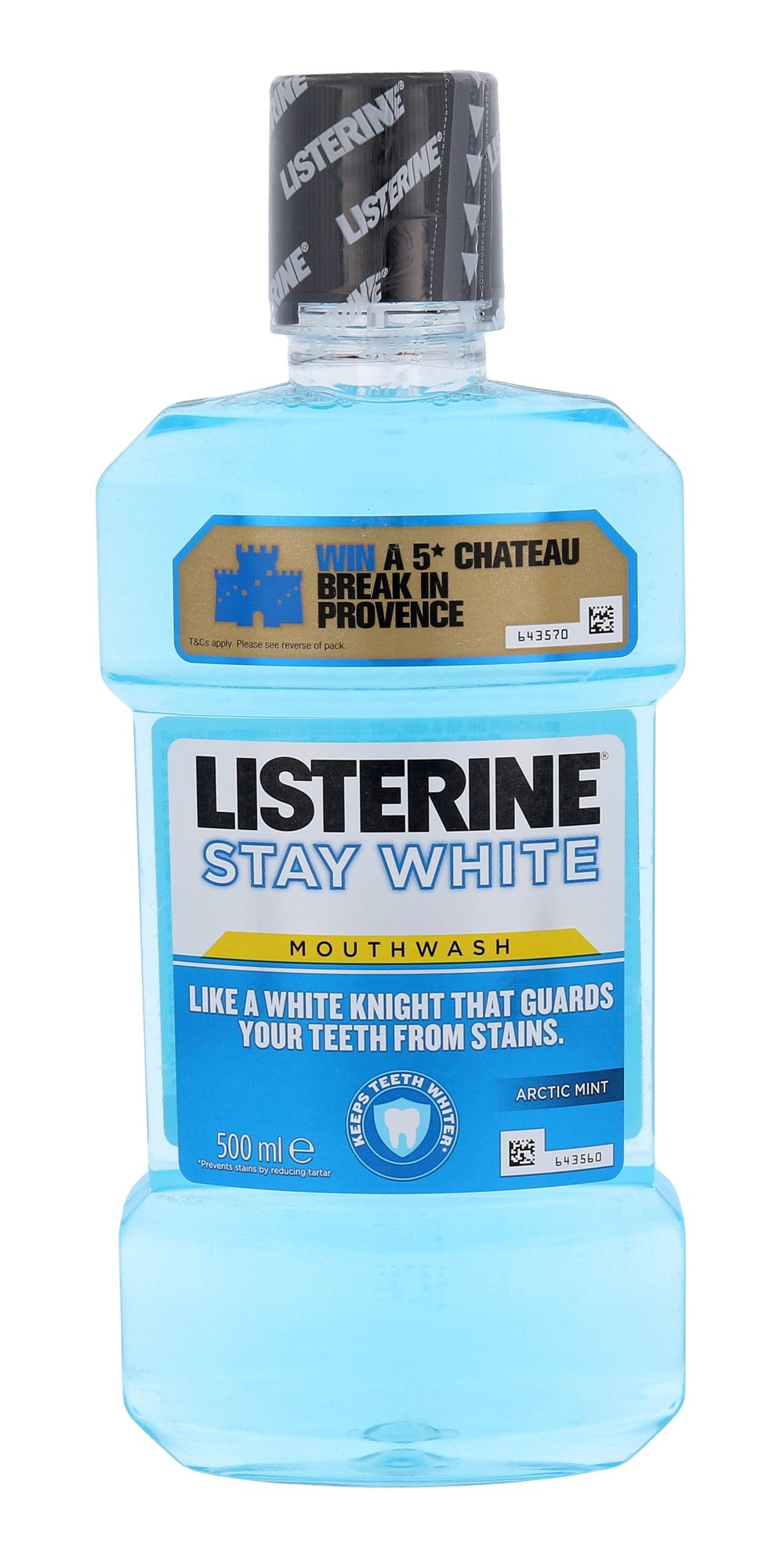 Listerine Mouthwash Stay White