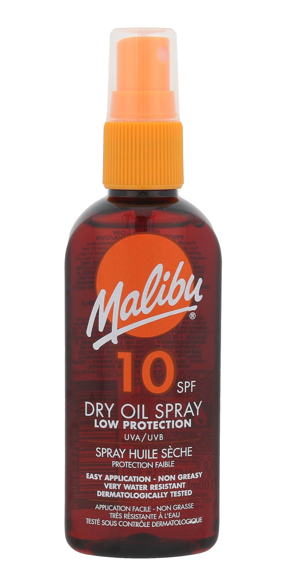 Malibu Dry Oil Spray SPF10
